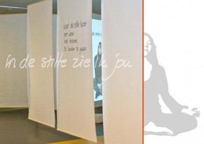 In de stilte zie ik jou - Silence room design - movie - poetry