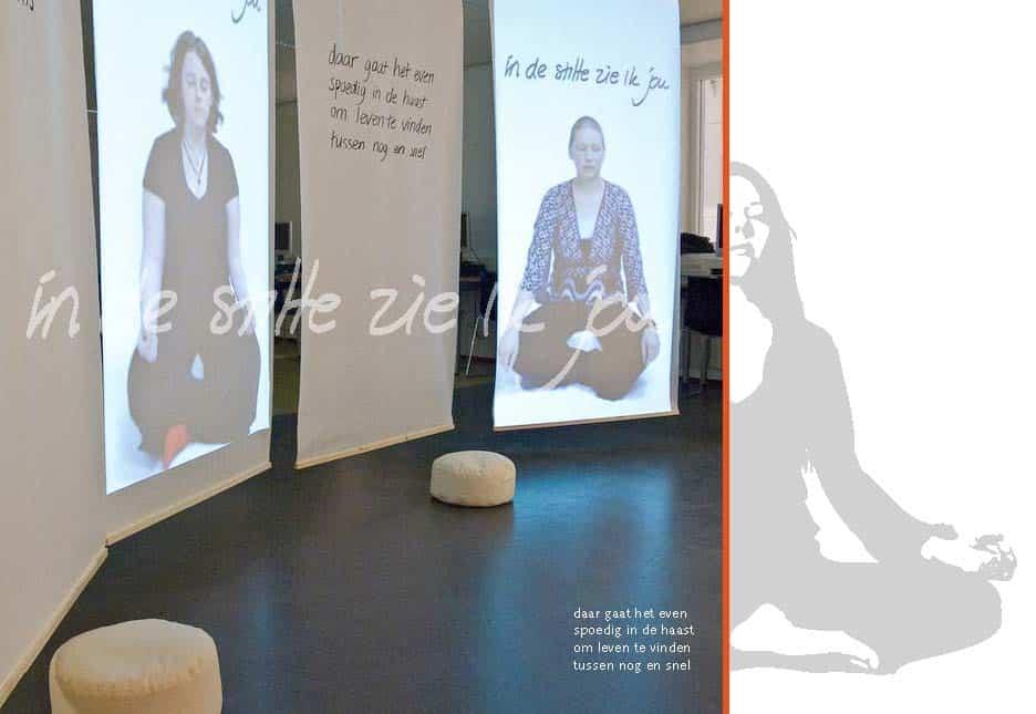 In de stilte zie ik jou - Silence room design - movie - poetry