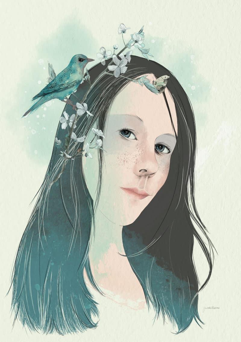 portrait living nature - juliette reniers
