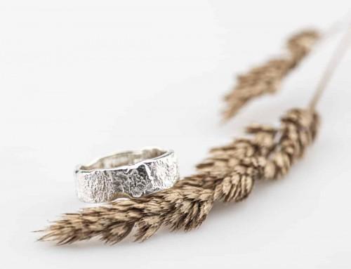 Organic Silver Ring